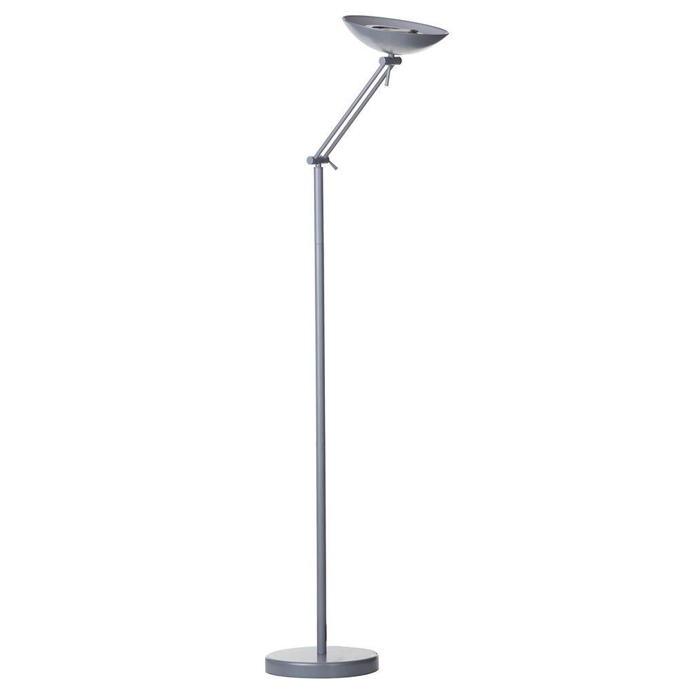 Litecraft Adjustable Floor Lamp - Grey