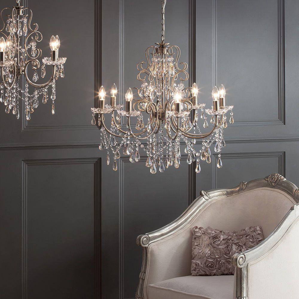 chandelier madonna 5 light dual mount antique brass from litecraft