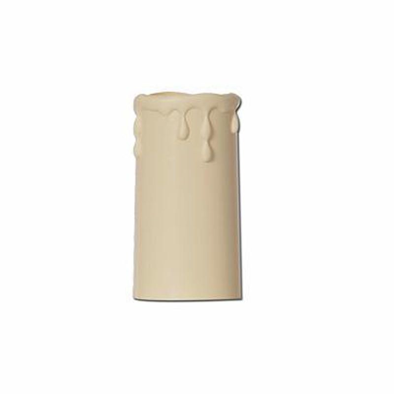 Candle Drips Wall Lights : Small Cream Candle Tubes with Decorative Drips from Litecraft