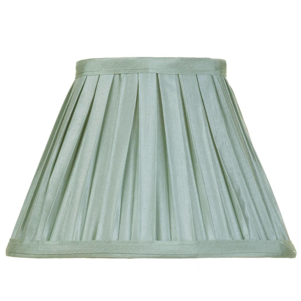 8 Inch Easy to Fit Box Pleat Shade Sage