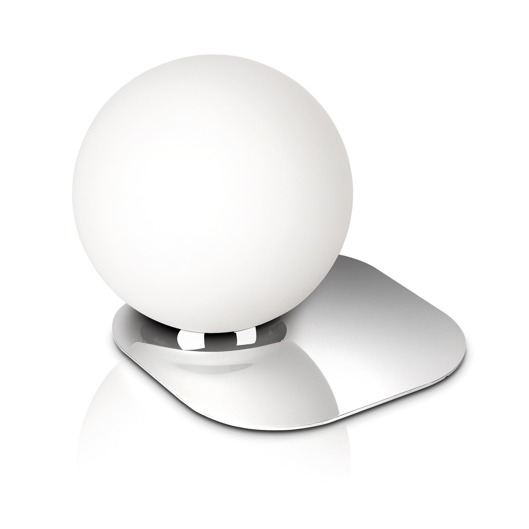 Philips Ecomoods Globe Table Lamp - Chrome