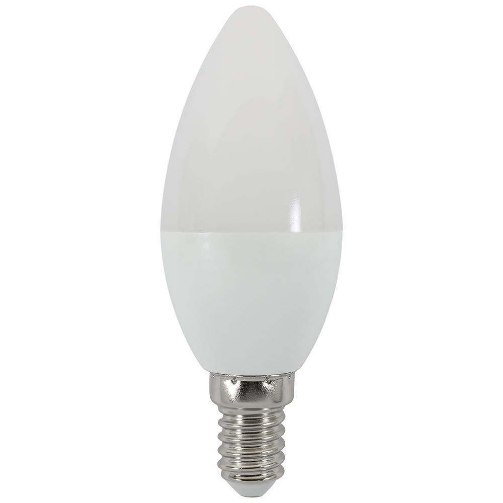 4 Watt Led E14 Ses Daylight Candle Bulb Cool White