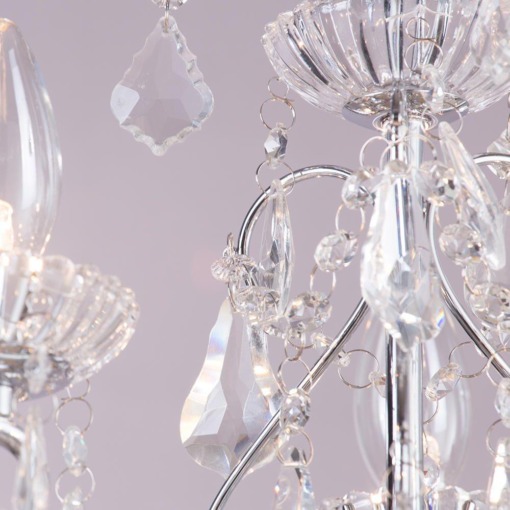 Vara 9 light bathroom chandelier chrome elegant bathroom chandeliers aloadofball Choice Image