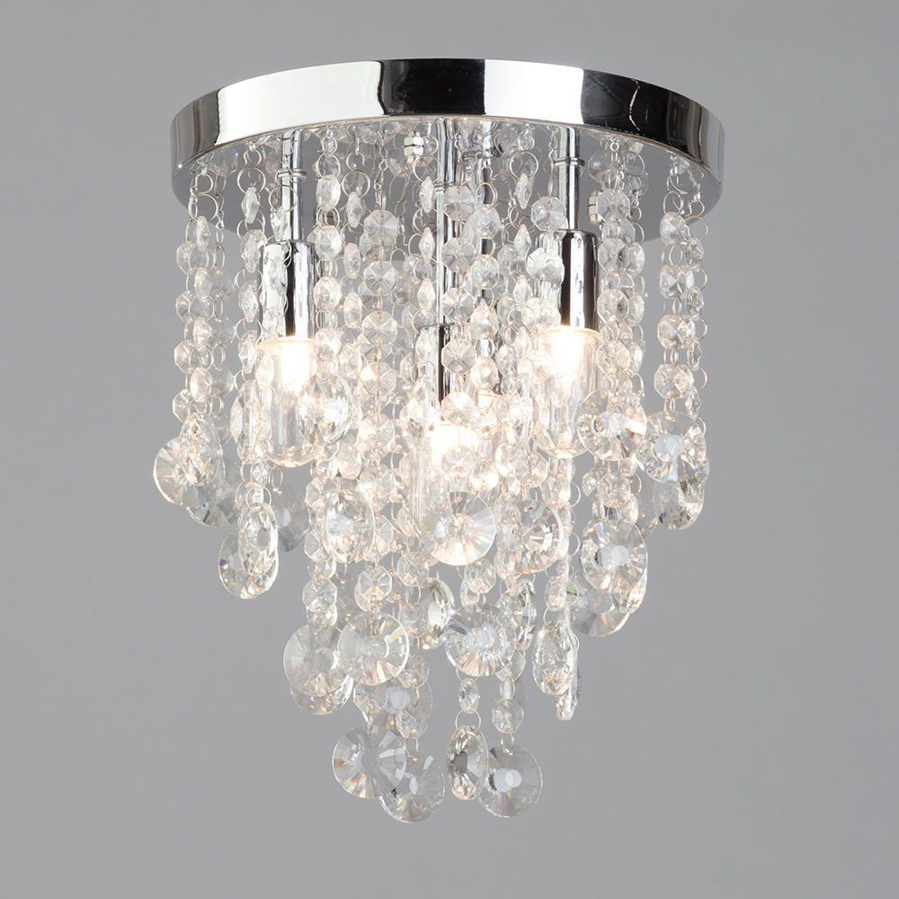 elegant bathroom ceiling flush