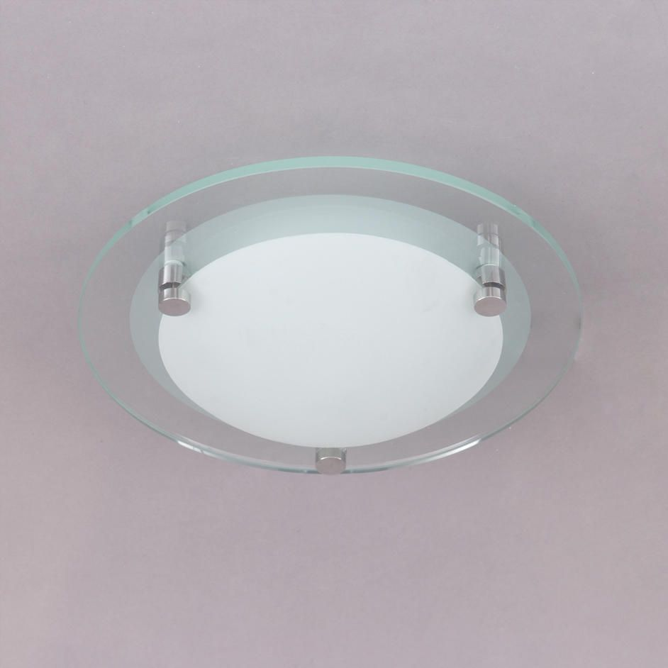 Lacunaria small flush bathroom ceiling light from litecraft glass bathroom ceiling lights aloadofball Choice Image