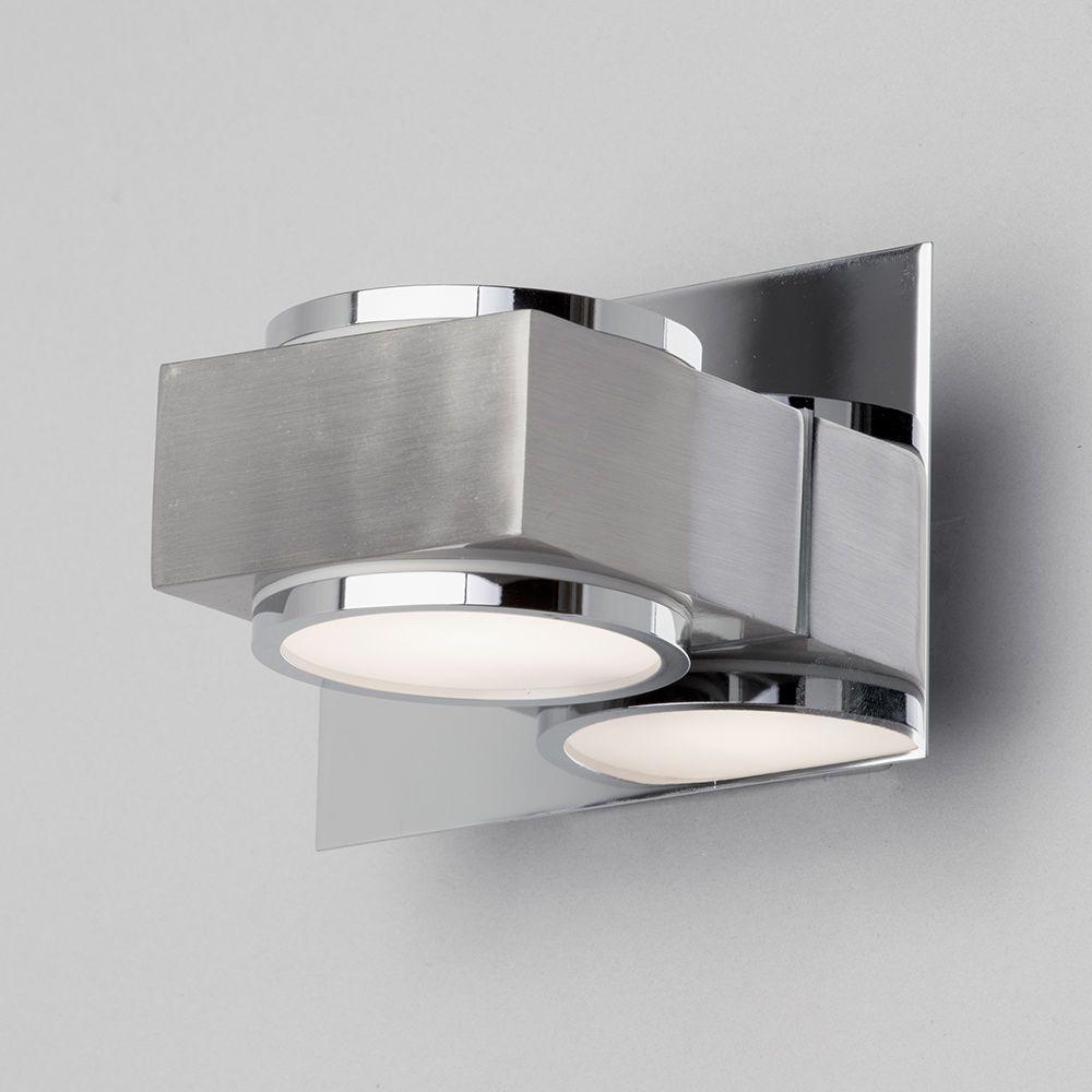 Valina Single Bathroom Wall Light In Chrome Litecraft