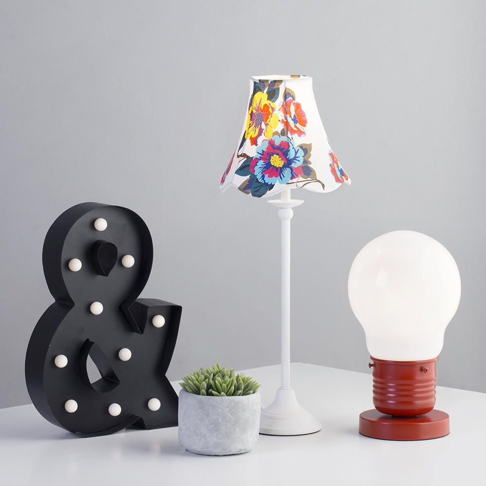 Table lamps gt battery led wireless lamp wireless usb by kartell - Ampersand Free Standing Battery Operated Table Light