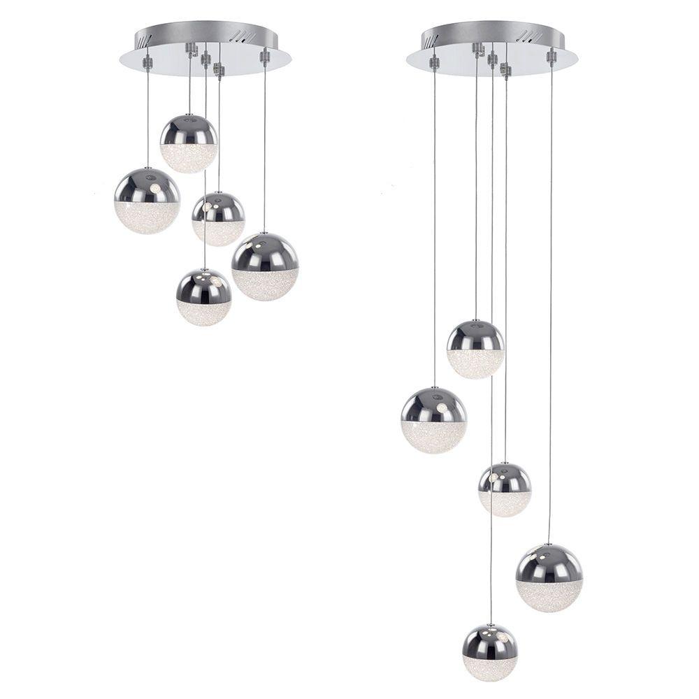 Corona 5 Light Cluster Ceiling Pendant