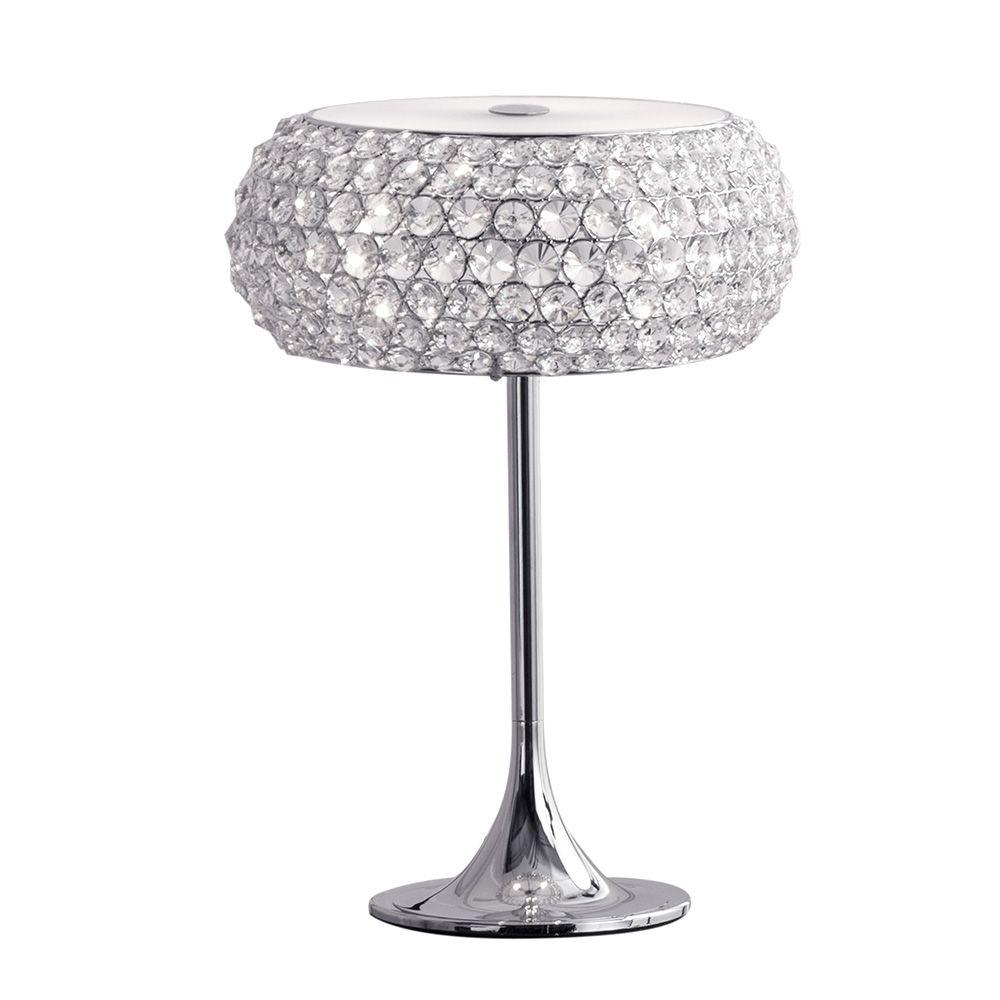 3 light diamante shade table lamp decorative home bedside lamp 3 light diamante shade table lamp decorative home bedside lamp litecraft mozeypictures Choice Image