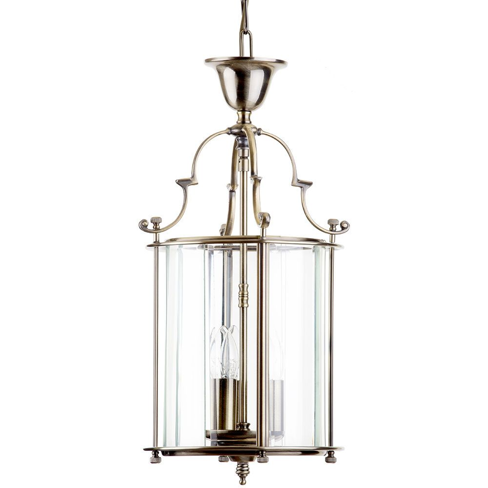 Lancashire Small 3 Light Ceiling Pendant Lantern