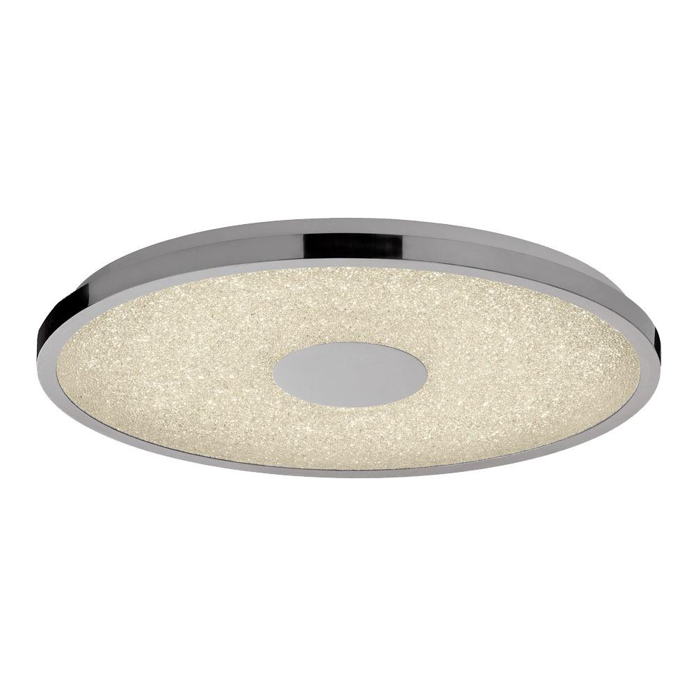 Lighting Bathroom Lighting Ceiling lights Visconte Spirale Flush 48cm LED Remote Control Ceiling Light - Chrome