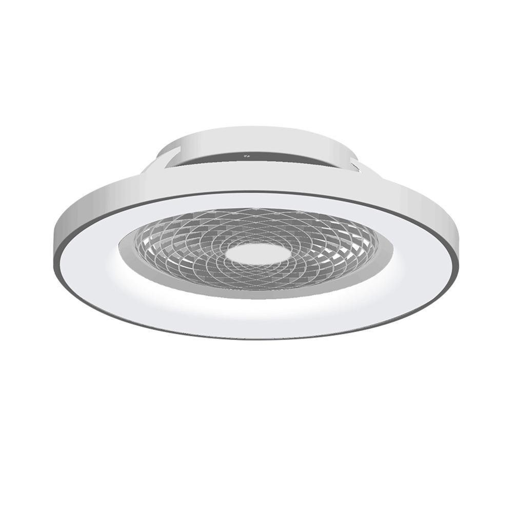 Lighting Accessories Bathroom Lighting Light Bulbs Ceiling lights Visconte Whispy 70 Watt LED Smart App Controlled Ceiling Light with Fan - Silver