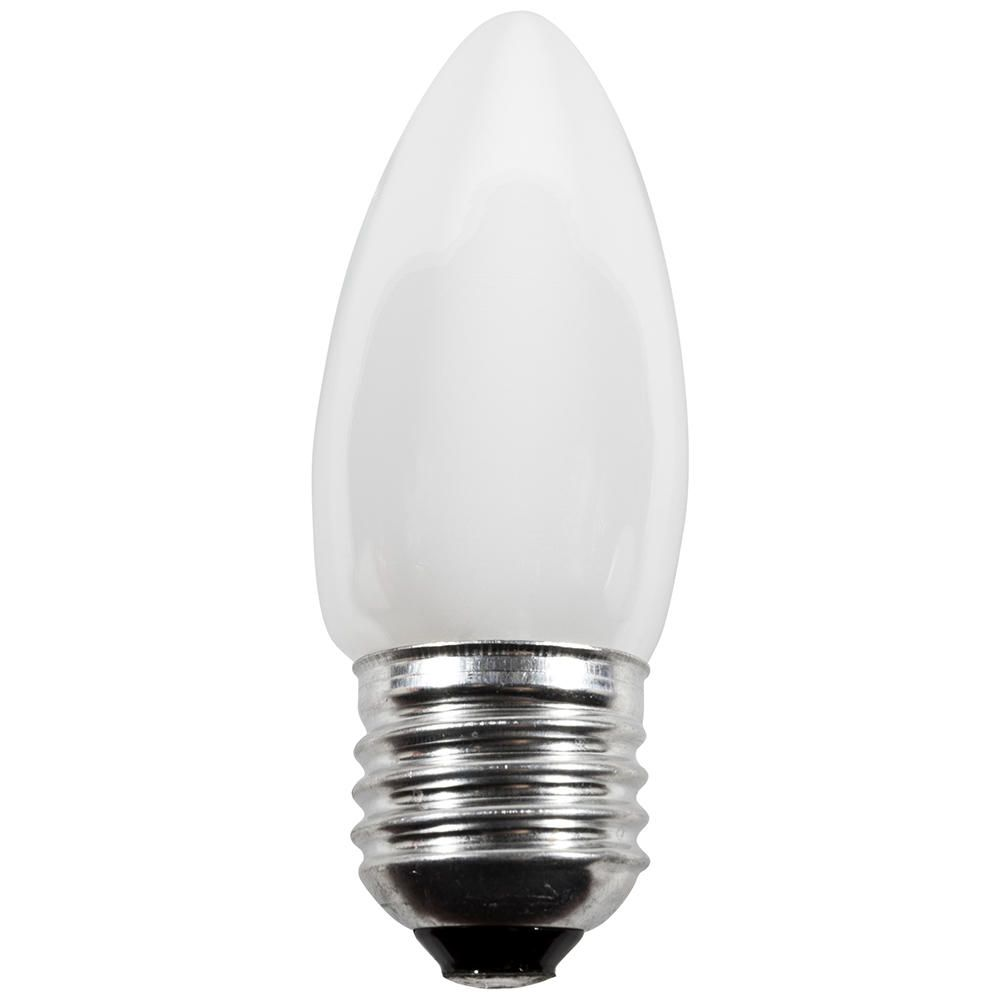 Candle light bulbs have a longer and narrower design which gives a unique spread of light to your home in a fulfilling and practical manner. The incan
