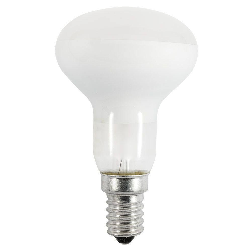 incandescent light bulbs 40 watt e14 r50 opal. Black Bedroom Furniture Sets. Home Design Ideas