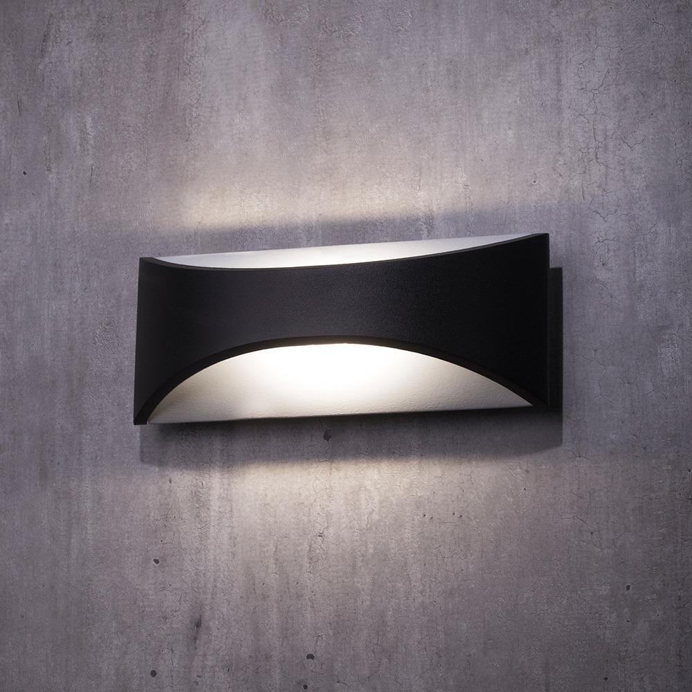 Marsden Outdoor LED 6 Watt Wall Light - Black From Litecraft