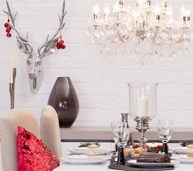 Be Inspired : Red & Black Glam Christmas