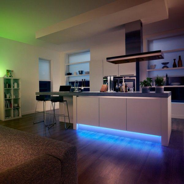 How to use LED strip lighting in your kitchen