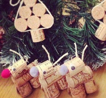 How To: Make Festive Cork Decorations