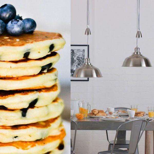 Practical Kitchen Lighting for a Perfect Pancake Parlour