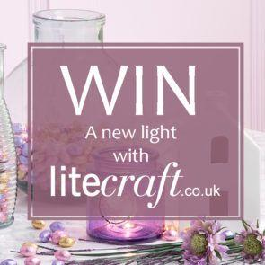 Win a Spring Inspired Easter style Lamp from Litecraft