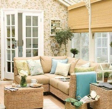 Country Style Conservatory décor ideas
