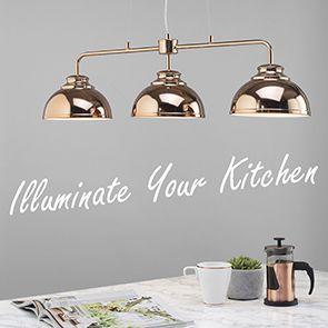 Beautiful Ways To Illuminate Your Kitchen Workspace
