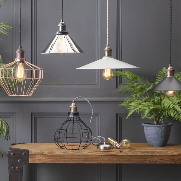 Combine & Shine - With our New D.I.Y Industrial Pendant Range