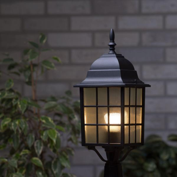 Outdoor porch & security lighting for dark winter nights