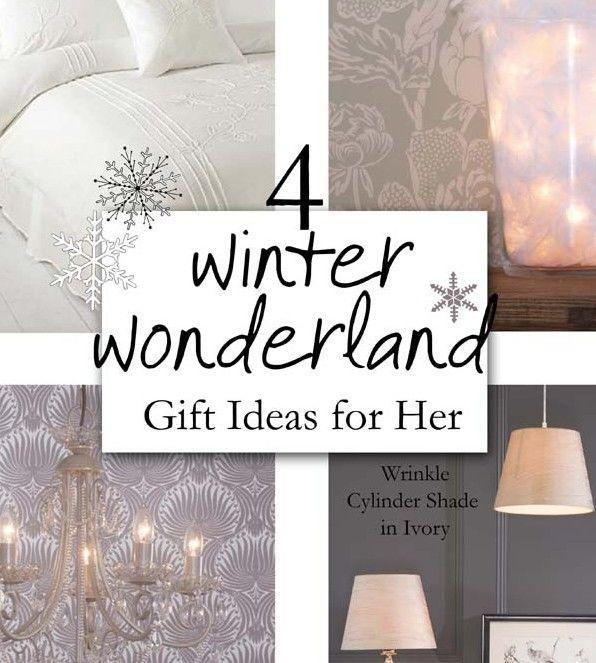 4 Winter Wonderland Gift ideas for Her