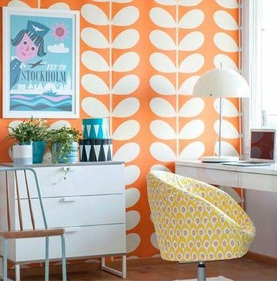 Be Inspired : Orla Kiely Inspired Home Offices