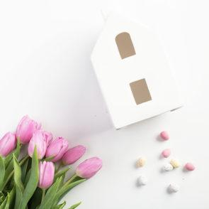 Win Our Ceramic House Styled Table Lamp with Litecraft's Easter Giveaway