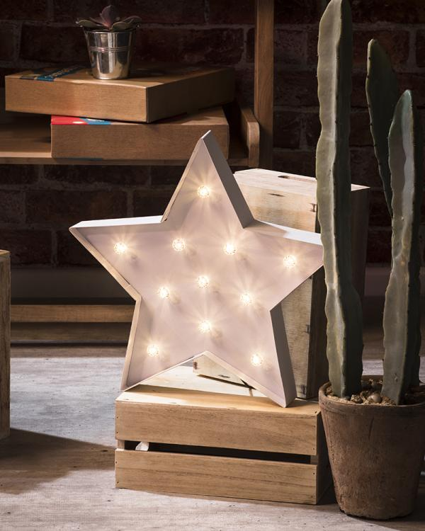 Starry Night Table Lamp featured in Home Style Magazine Feb 2018 Issue