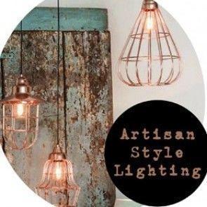 Top Picks : Artisan Style Lighting