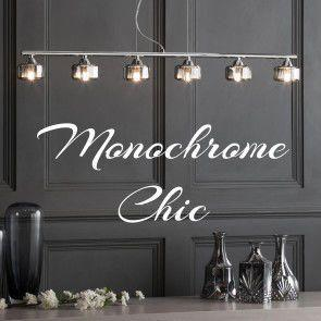 Be Inspired: Monochrome Lighting & Accessories