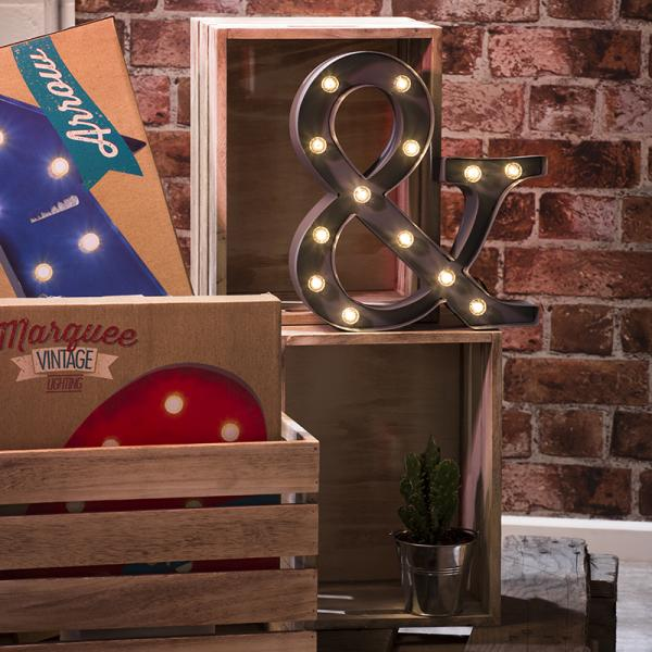 Win a trendy Marquee Light with our latest Competition