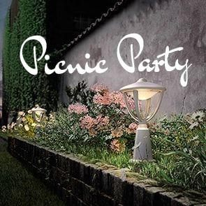 Be Inspired: Picnic Party Lighting and Accessories