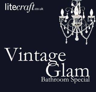 Be Inspired : Vintage Glam' Bathroom Special