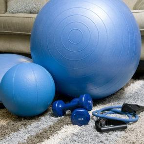 Lighting tips for your home gym
