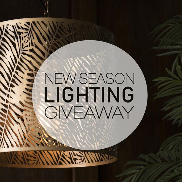 Win our Limited Edition Fern Ceiling Pendant