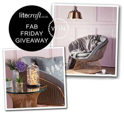 COMPETITION: WIN AN AUTUMN BLUSH INSPIRED LIGHT