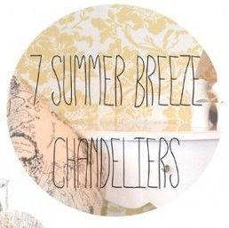 7 Summer Breeze Chandeliers from Litecraft