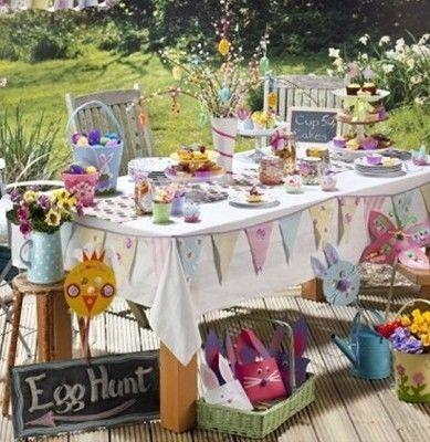 Be Inspired :  Outdoor Easter Party