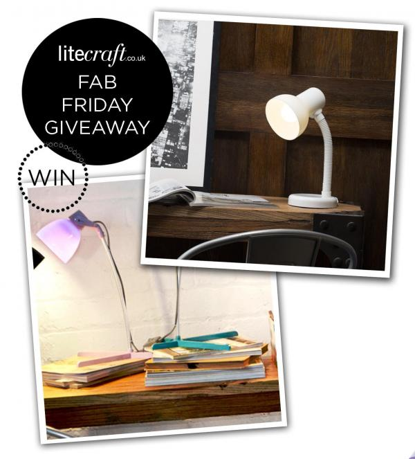 Competition Time : Win a Beautiful Back to School Lamp
