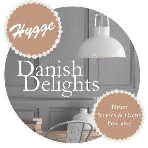Create Hygge with our Drum Shades and Pendants