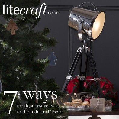 Be Inspired : 7 ways to add a festive twist to the Industrial Trend