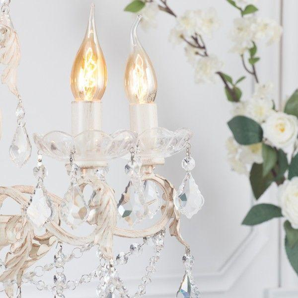 English Cottage Cushions and Chandeliers