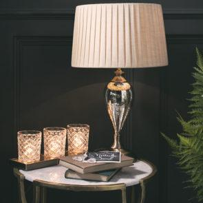 Giveaway : We're giving away a vintage glass inspired lamp