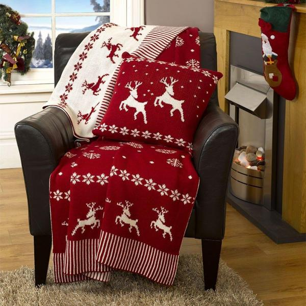 New Arrivals : Christmas Cushions and Throws