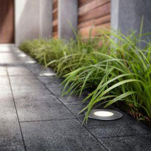 Highlight your home with recessed floor lighting