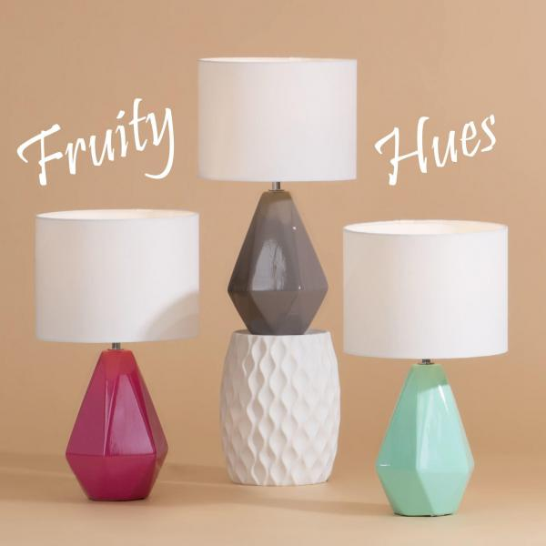 LIGHT UP YOUR INTERIORS WITH FRUITY HUES